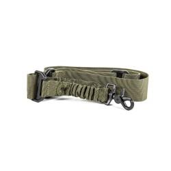 Black River Bungee Single point rifle sling, оливково-зеленый