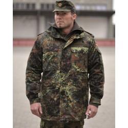 Saksa armee flecktarn laiku parka - uueväärne