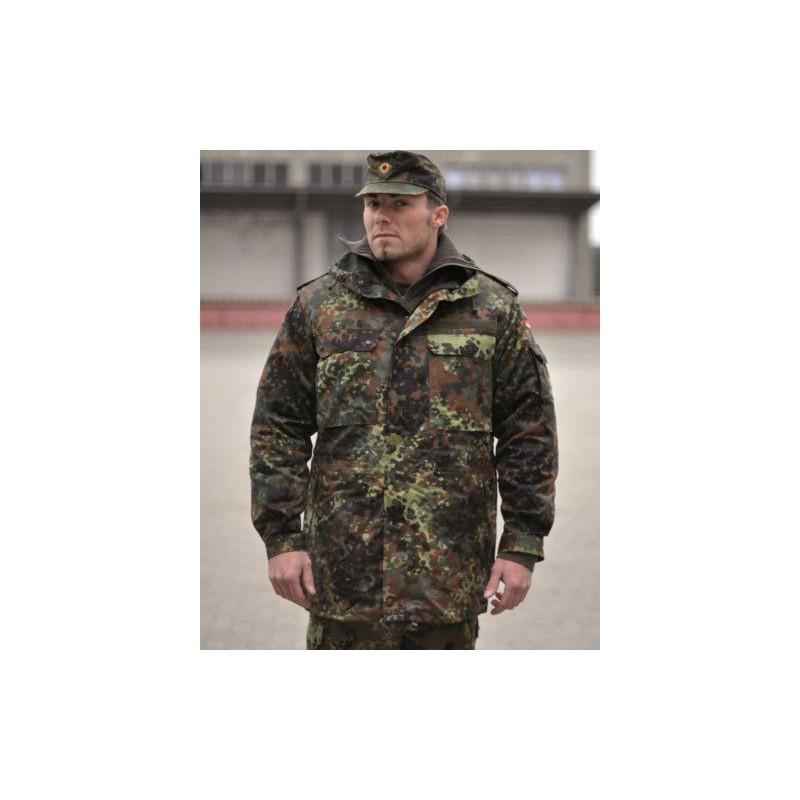 Bundeswehr parka, BW camo, like new