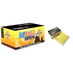 Прокат Reball 0,68 кал, 500шт, желтый