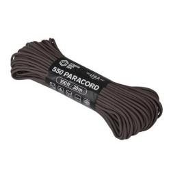 Atwood Rope MFG ™ Paracord 550, 30м, коричневый