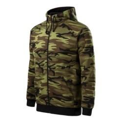 Malfini Camouflage hoodie, camo green