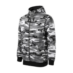 Malfini Camouflage hoodie, camo grey