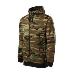 Malfini Camouflage hoodie, camo brown