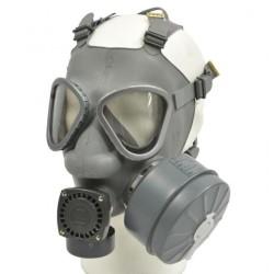 Finnish Nokia gas mask, grey