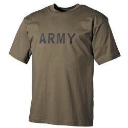 "T-Shirt, ""ARMY"", OD green"