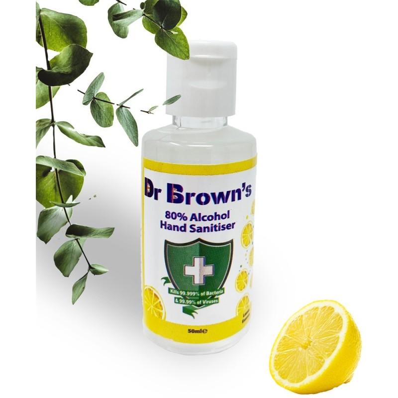 BCB Dr. Brown's Sidrunilõhnaline desifitseerimisvahend kätele 50ml