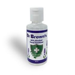 BCB Dr. Brown's Hand Sanitiser 50ml, Lavender