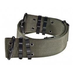 AB US Army pistol belt, olive green