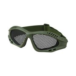 Kombat Tactical mesh goggles, olive green