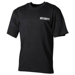 T-Shirt, Security, black