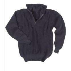 Mil-Tec свитер, Troyer, темно-синий