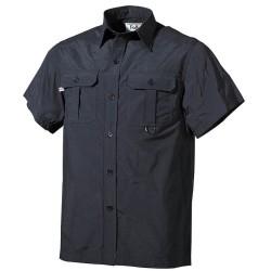 Lühikeste käistega särk, must