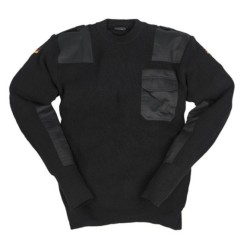 Mil-tec German sweater, black