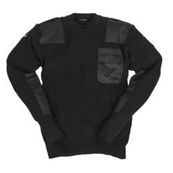 Saksa sviiter-pullover, must