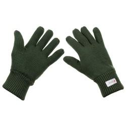 "Перчатки, ""Thinsulate"", акрил, OD зеленый"