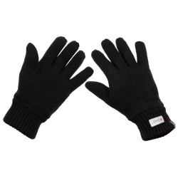 "Вязаные перчатки MFH, ""3M ™ Thinsulate"", черные"