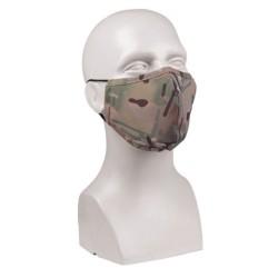 Mil-tec face mask, wide shape, Multitarn