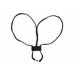 Одноразовые наручники ESP Textile, черные