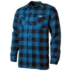 Shirt, lumberjack, blue/black,