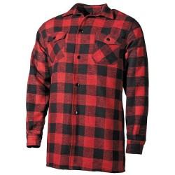 Shirt, lumberjack, red//black,