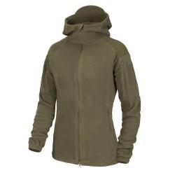 Helikon Cumulus Women's fleece jacket, Taiga green