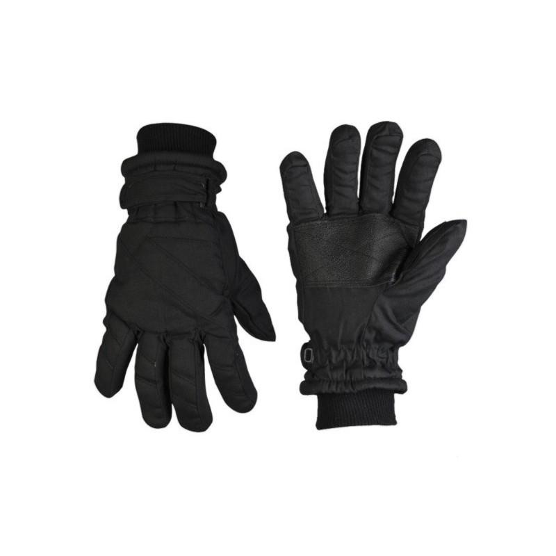 Thinsulate winter gloves, black