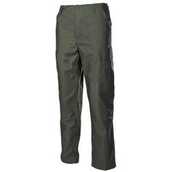 U.S. BDU välipüksid (field pants), oliivroheline
