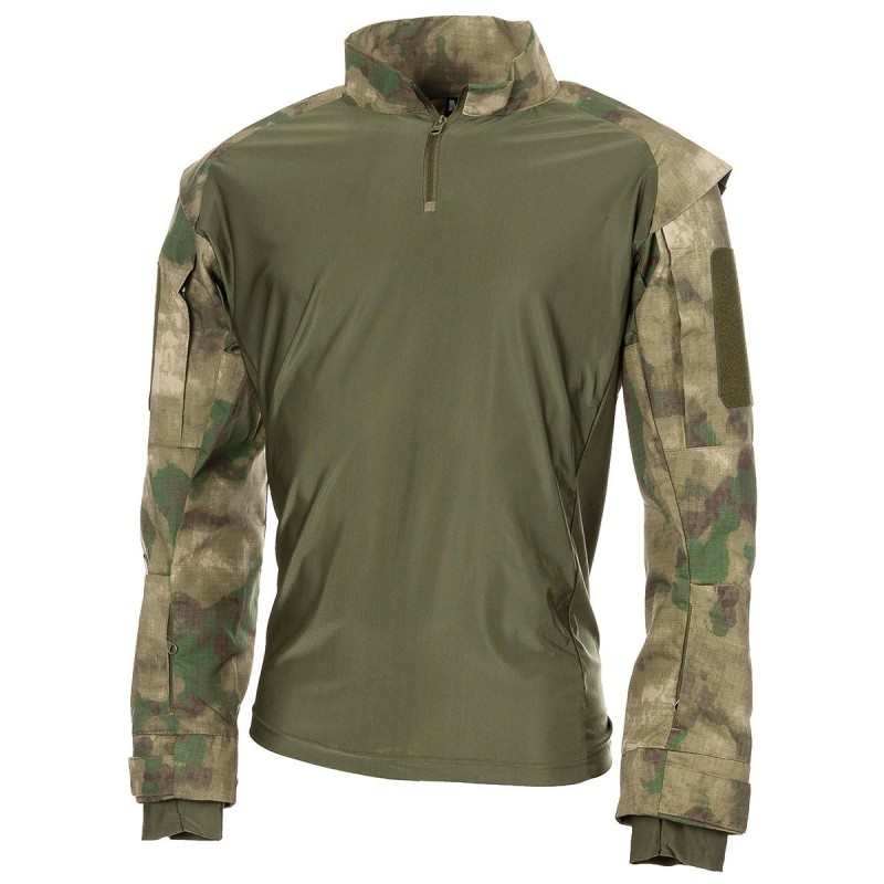 US Tactical Shirt, HDT camo green