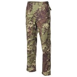 US BDU Field Pants, Rip Stop, vegetato