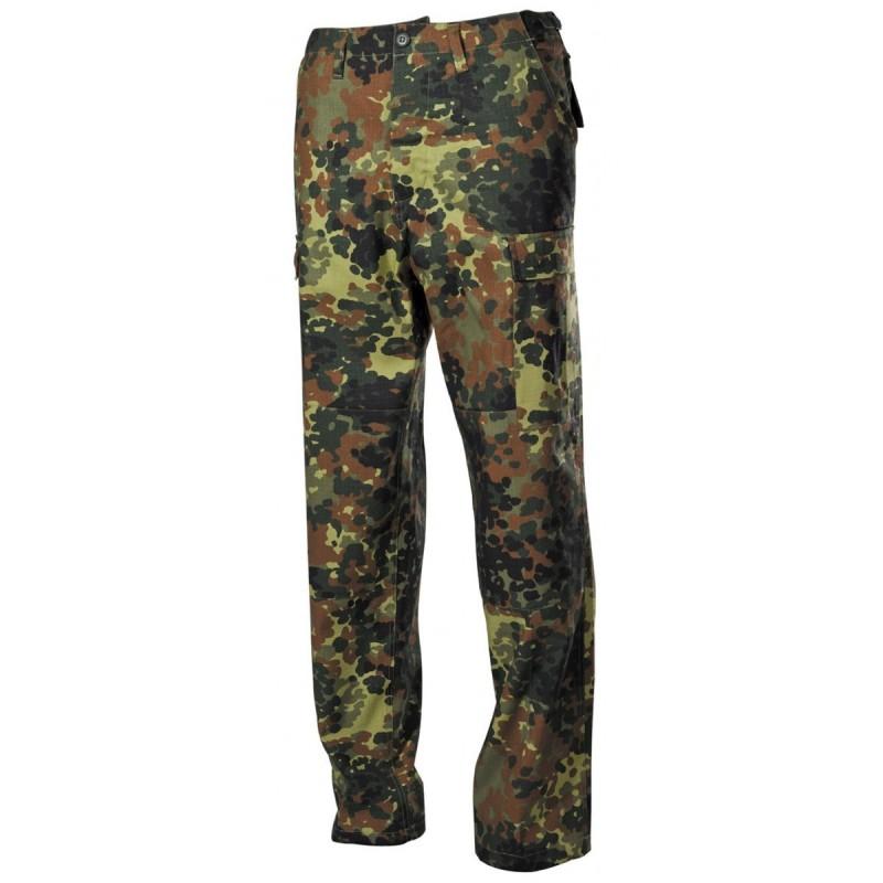 US BDU Field Pants, Rip Stop, BW camo