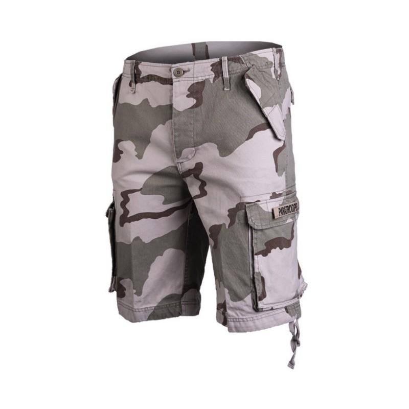 Paratrooper shorts, desert