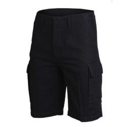 Saksa moleskin lühikesed püksid, must