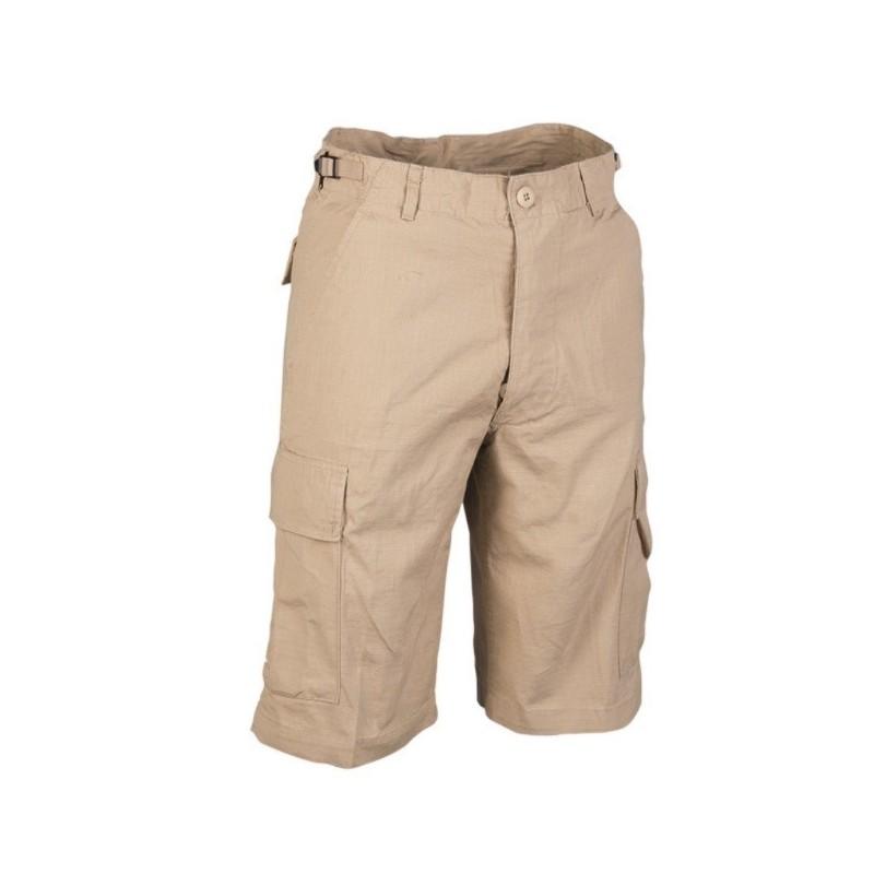 US Bermuda pants prewashed, khaki