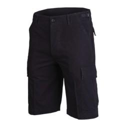 US Bermuda lühikesed püksid, prewashed, must