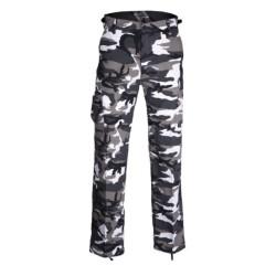 US BDU style pants, Ripstop, prewashed, urban camo