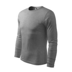 Adler FIT-T Long sleeve shirt, dark gray melange