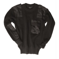 Mil-tec Немецкий BW Пуловер, черный