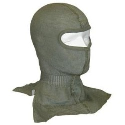 Bundeswehri suusamask, villane, rohekas-hall