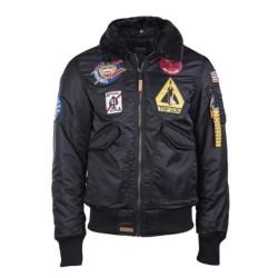 "Top Gun Flight jacket ""Air Force"", black"