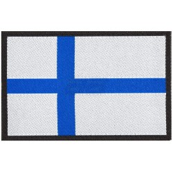 "Нашивка Clawgear Textile, ""Финский флаг"""