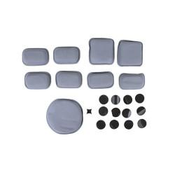 FMA Шлем Набор защитных колодок, серый