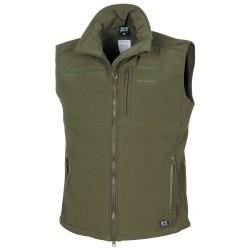 MFH Softshell vest, oliivroheline