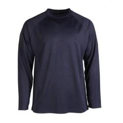 Тактический длинный рукав быстро сухая рубашка, темно-синий
