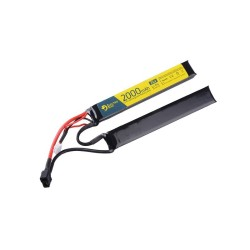 Electro River LiPo 7,4V 2000 mAh 15/30C Battery, T-connect (DEANS)