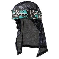 Dye Pearätik Head Wrap, Eskimo Teal/Gry/Blk