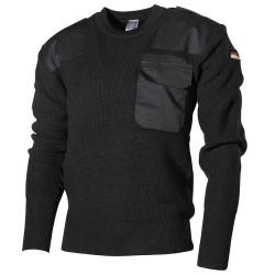 BW пуловер, черный
