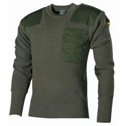 BW пуловер, OD зеленый