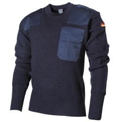 BW пуловер, синий