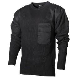 BW Pullover, black, acrylic